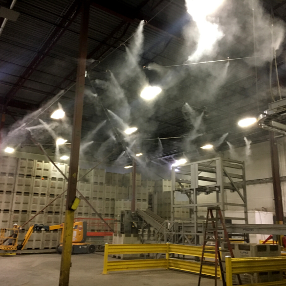 Keep Your Workplace Healthy and in Compliance with an Odor Control Misting System