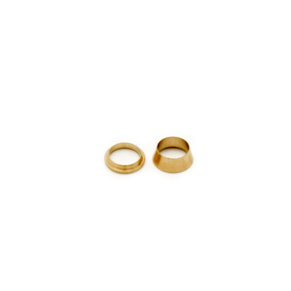 """Replacement Brass Ferrule Fittings 1/4"""""""