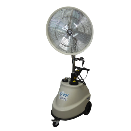 Cool Caddie-Self Contained Portable 1000 PSI Misting 3 speed Fan
